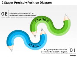 0620 Project Management 2 Stages Precisely Position Diagram Powerpoint Templates PPT Backgrounds For Slides