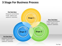 0620 Project Management Consultancy 3 Stage For Business Process Powerpoint Templates