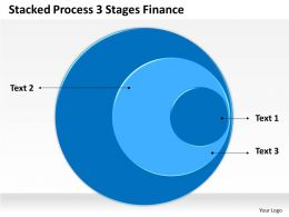 0620 Strategic Management Consulting 3 Stages Finance Powerpoint Templates PPT Backgrounds For Slides