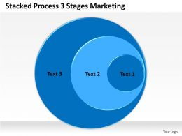 0620 Strategic Management Consulting 3 Stages Marketing Powerpoint Templates PPT Backgrounds For Slides