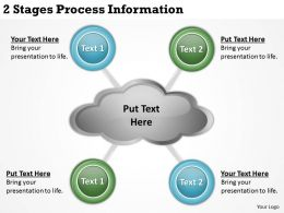 0620 Strategic Plan 2 Stages Process Information Powerpoint Templates