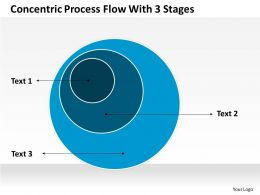 0620 Strategic Planning Process Flow With 3 Stages Powerpoint Templates PPT Backgrounds For Slides