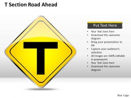 0620 Strategy Management Consultants Section Road Ahead Powerpoint Templates PPT Backgrounds For Slides