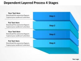 0620 Strategy Management Consulting 4 Stages Powerpoint Templates PPT Backgrounds For Slides