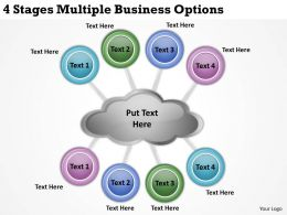 0620 Top Management Consulting Business 4 Stages Multiple Options Powerpoint Slides
