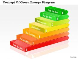 0714 Business Consulting Concept Of Green Energy Diagram Powerpoint Slide Template