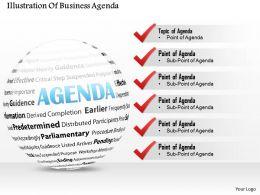 74317891 Style Essentials 1 Agenda 6 Piece Powerpoint Presentation Diagram Infographic Slide