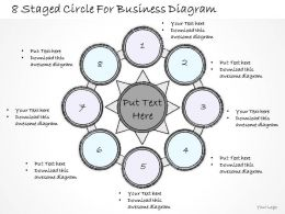 0714 Business Ppt Diagram 8 Staged Circle For Business Diagram Powerpoint Template