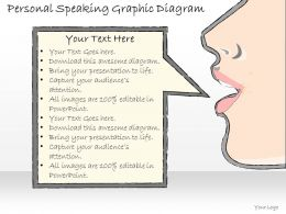 0714 Business Ppt Diagram Personal Speaking Graphic Diagram Powerpoint Template
