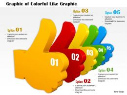 0714 Graphic Of Colorful Like Graphic Diagram Image Graphics For Powerpoint