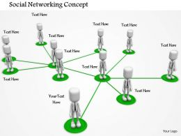 0714 Social Networking Concept Diagram Image Graphics For Powerpoint