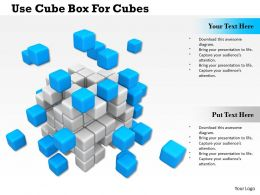 0714 Use Cube Box For Cubes Diagram Image Graphics For Powerpoint