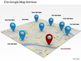 0714_use_google_map_services_diagram_image_graphics_for_powerpoint_Slide01