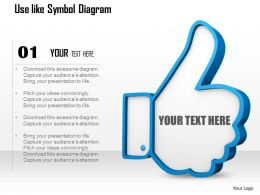 0714 Use Like Symbol Diagram Image Graphics For Powerpoint