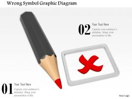 0714 Wrong Symbol Graphic Diagram Image Graphics For Powerpoint