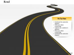 0814 3d Graphic Of Roadmap For Timeline Diagram Image Graphics For Powerpoint