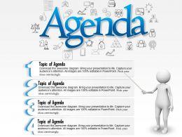 65382635 Style Essentials 1 Agenda 4 Piece Powerpoint Presentation Diagram Template Slide