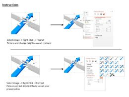 0814_blue_arrow_breaking_the_wall_shows_problem_solving_concept_image_graphics_for_powerpoint_Slide03