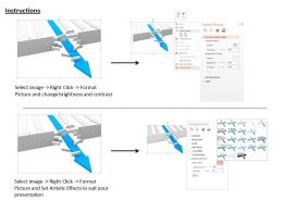 0814_blue_arrow_breaking_wall_shows_solution_finding_image_graphics_for_powerpoint_Slide03