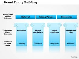 0814 Brand Equity Building Powerpoint Presentation Slide Template