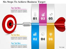 0814_business_consulting_six_steps_to_achieve_business_target_powerpoint_slide_template_Slide01