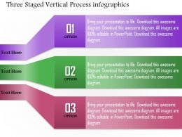 0814 Business Consulting Three Staged Vertical Process Infographics Powerpoint Slide Template