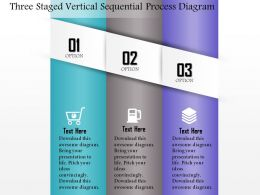 0814 Business Consulting Three Staged Vertucal Sequential Process Diagram Powerpoint Slide Template