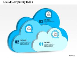 0814 Cloud Computing Icons Within Each For Public Private Or Hybrid Computing Ppt Slides