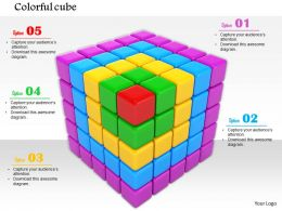 0814 Colorful 3d Cube Graphic For Team Representation Image Graphics For Powerpoint