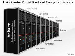 50561319 Style Technology 1 Servers 1 Piece Powerpoint Presentation Diagram Infographic Slide