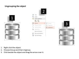 0814_database_symbol_icon_shown_by_silver_cylinders_to_represent_persistent_storage_ppt_slides_Slide03