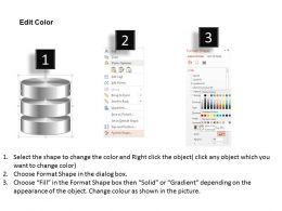 0814_database_symbol_icon_shown_by_silver_cylinders_to_represent_persistent_storage_ppt_slides_Slide04