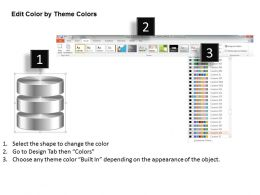 0814_database_symbol_icon_shown_by_silver_cylinders_to_represent_persistent_storage_ppt_slides_Slide06