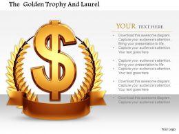 0814_dollar_symbol_on_laurel_trophy_for_success_image_graphics_for_powerpoint_Slide01