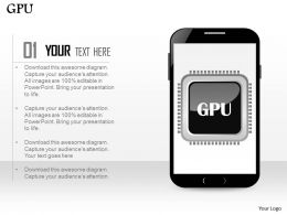 0814_graphic_processing_unit_gpu_icon_in_mobile_phone_ppt_slides_Slide01