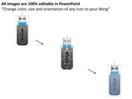 0814_icon_of_a_usb_device_with_data_storage_ppt_slides_Slide02