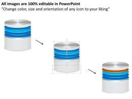 0814_icon_of_database_or_disk_storage_for_a_network_file_system_or_storage_area_network_ppt_slides_Slide02