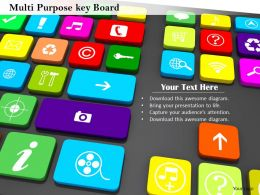 0814 Keyboard Full With Multiple Apps Image Graphics For Powerpoint