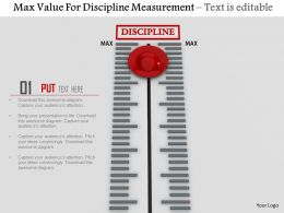 0814 Max Value For Discipline Measurement Image Graphics For Powerpoint