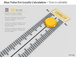 0814 Max Value For Loyalty Calculation Image Graphics For Powerpoint