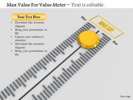 0814 Max Value For Value Meter Image Graphics For Powerpoint