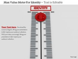 0814 Max Value Meter For Identity Image Graphics For Powerpoint