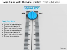 0814 Max Value On Meter For Quality Image Graphics For Powerpoint
