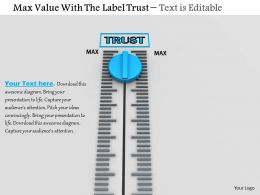 0814 Max Value On Meter For Trust Image Graphics For Powerpoint