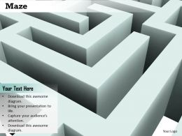 0814 Maze Graphic Background To Show Problem Image Graphics For Powerpoint