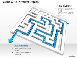 0814_maze_with_blue_arrow_for_solution_path_image_graphics_for_powerpoint_Slide01