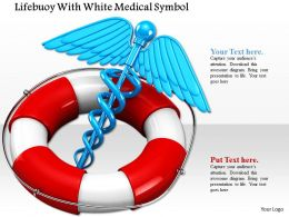 0814 Medical Symbol Inside The Red And White Tube Image Graphics For Powerpoint