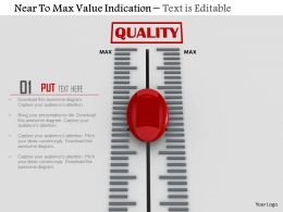 0814 Near To Max Value Indication Image Graphics For Powerpoint