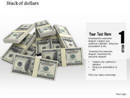 0814_pile_of_dollars_for_finance_graphics_for_powerpoint_Slide01