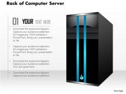61707328 Style Technology 1 Servers 1 Piece Powerpoint Presentation Diagram Infographic Slide